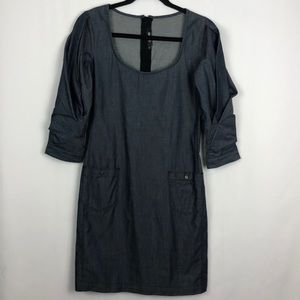DIESEL CHAMBRAY DRESS DEMIN